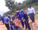 UTC Kichwamba students in real life project