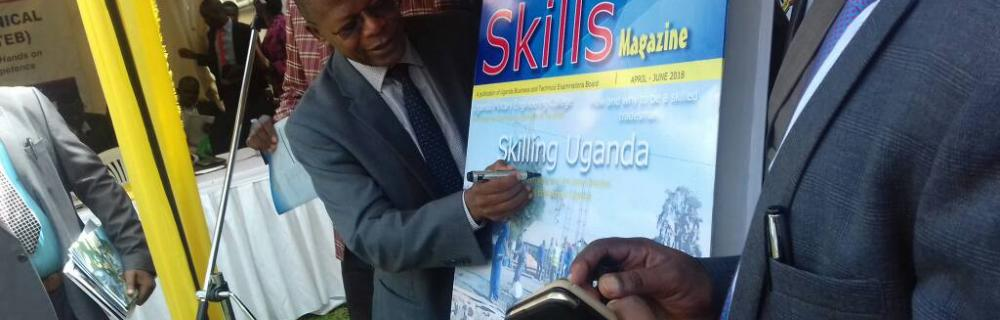 UBTEB launches skills magazine